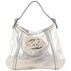 Gucci Britt Hobo Leather Medium