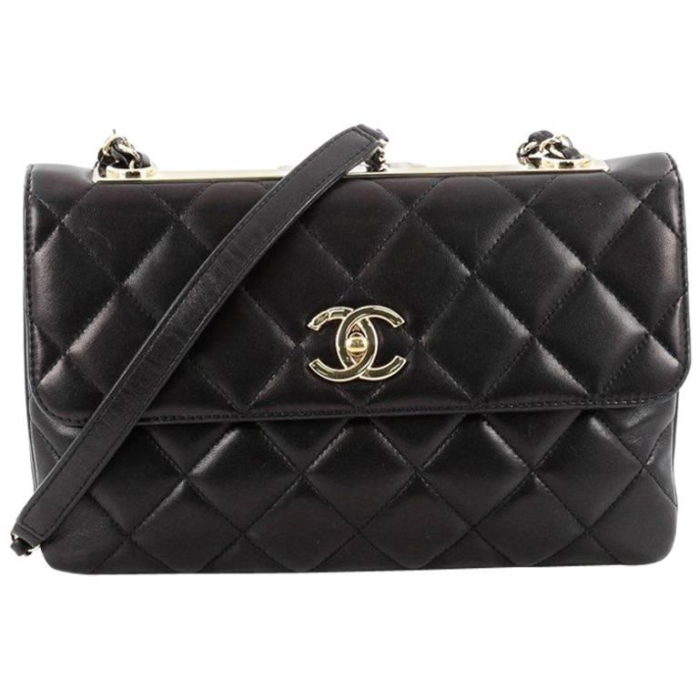 0ffd62230599 Chanel Trendy CC Flap Bag Quilted Lambskin Medium at 1stdibs