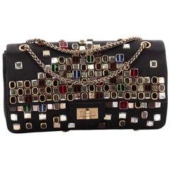 Chanel  Paris-Byzance Reissue 2.55 Handbag Embellished Satin 225