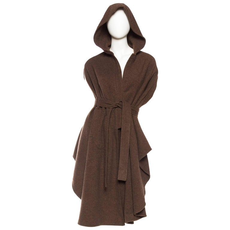 Wool Cape with Hood 1