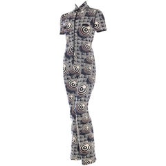 Jean Paul Gaultier Optic Jumpsuit
