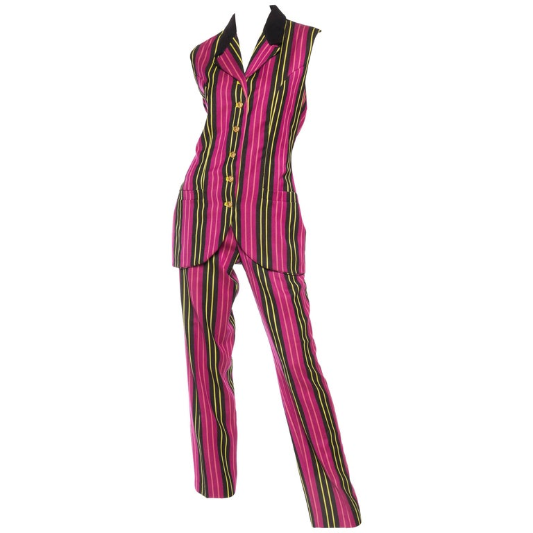 Gianni Versace Vest and Pant Ensemble