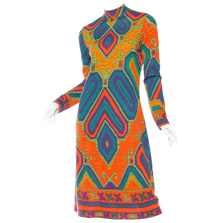 1960s Leonard Jersey Dress