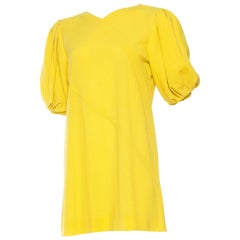 Jean Muir Lightweight Mod Yellow Dress
