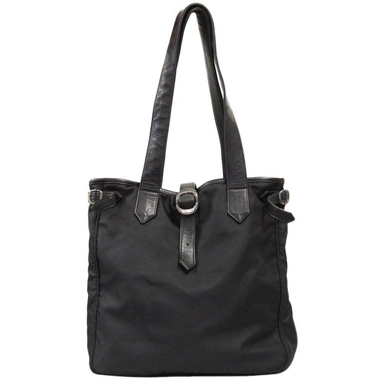 2000s Chrome Hearts Black Tote Bag