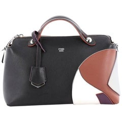 Fendi Marquetry By The Way Satchel Leather Small