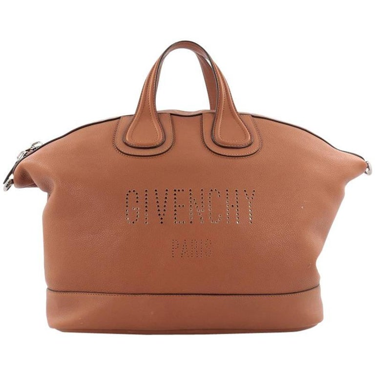 eb4f22078405 Givenchy Nightingale Satchel Waxed Leather Large For Sale. This authentic  Givenchy Nightingale Satchel Waxed Leather Large is a luxurious yet casual  ...