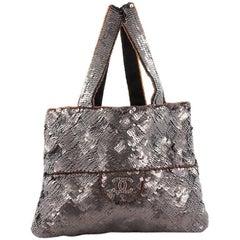Chanel Trompe L'Oeil CC Evening Bag Sequins