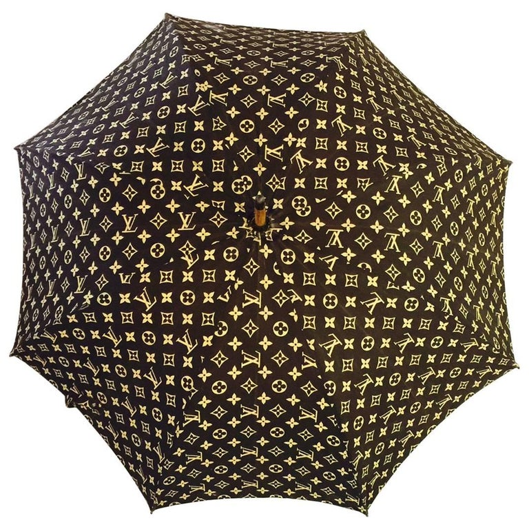 Louis Vuitton Vintage Umbrella Parasol, 1970