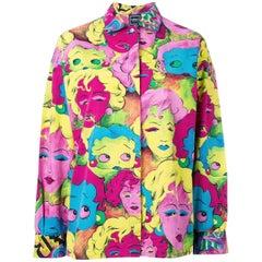 1991 Gianni Versace Betty Boop shirt