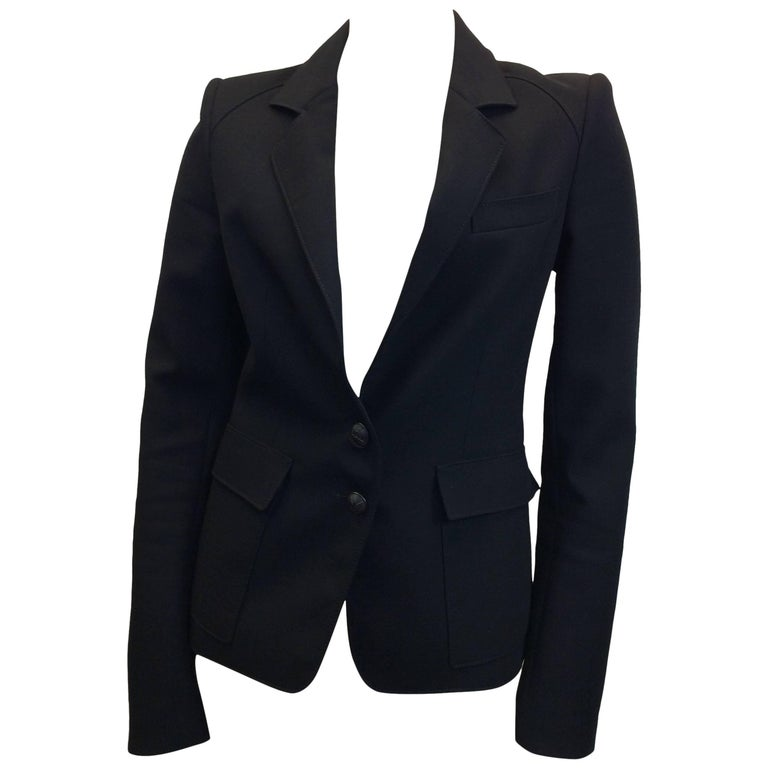 Balenciaga Black Blazer For Sale