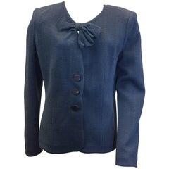 Armani Blue Bow Jacket