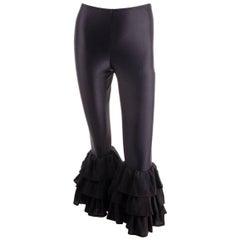 Norma Kamali Ruffle Pants