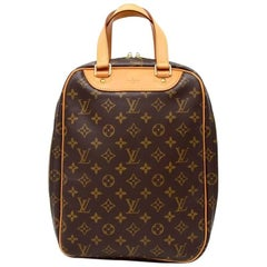 Vintage Louis Vuitton Excursion Monogram Canvas Travel Hand Bag