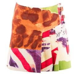 Christian Dior Animal Print Skirt