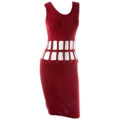 Jean Paul Gaultier Cutout Cage Dress