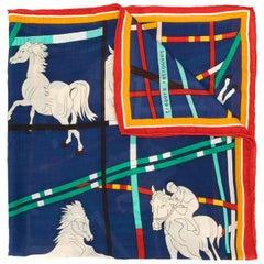 Hermes Wool/Silk Blend Scarf