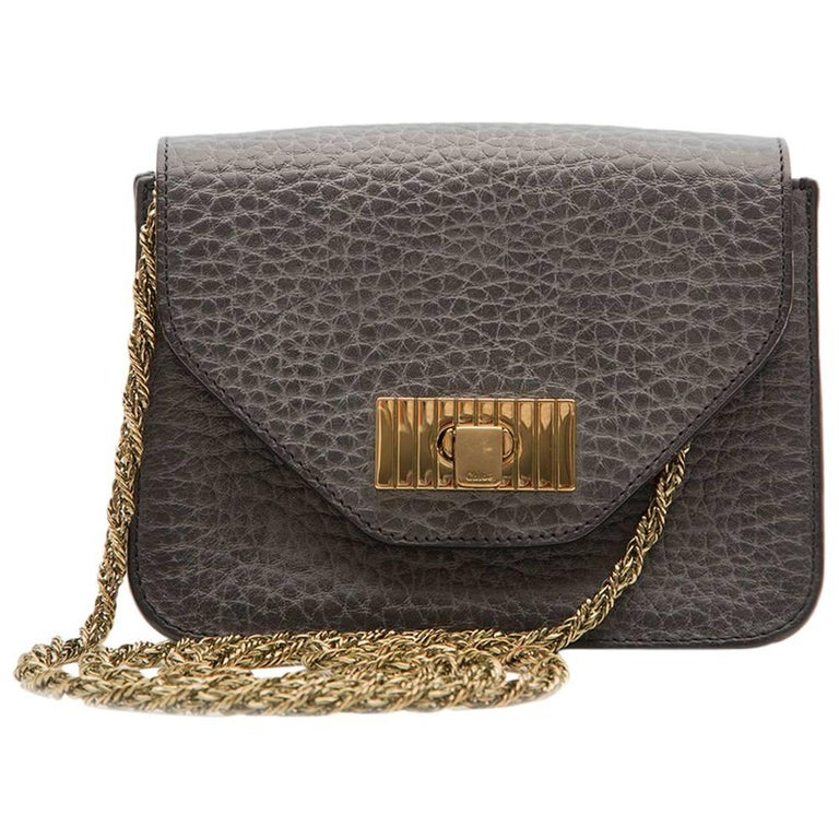Chloé Dusty Blue Mini Bag