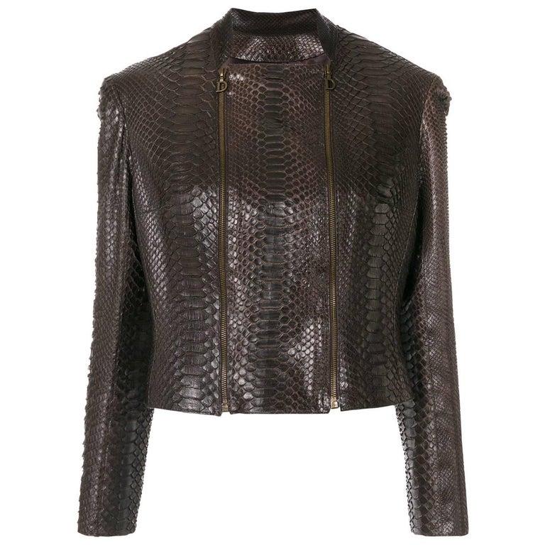 Christian Dior Python Jacket