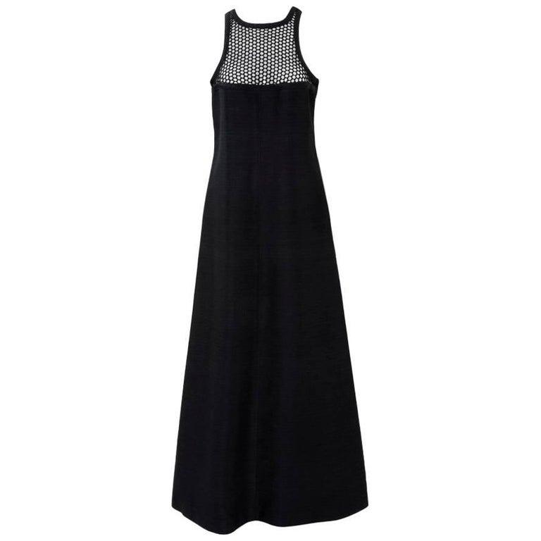 Courreges Sleeveless A-Line Maxi Dress
