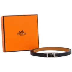 New in Box Hermes Black & Gold 4 Wraps Bracelet