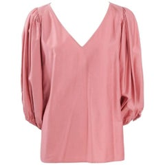Yves Saint Laurent Peasant Blouse Tunic