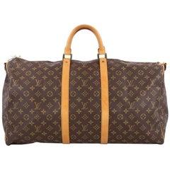 Louis Vuitton Keepall Bag Monogram Canvas 55