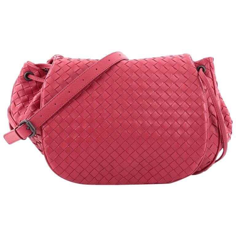 077e50eb02fc Bottega Veneta Flap Messenger Bag Intrecciato Nappa Medium at 1stdibs