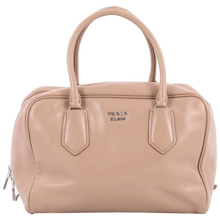 Prada Inside Bauletto Bag Soft Calfskin Medium