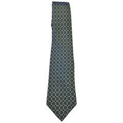 HERMES Paris Classic Men's Tie.