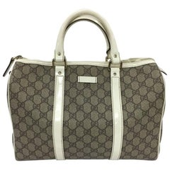 Gucci Joy Boston Bag GG Coated Canvas Medium