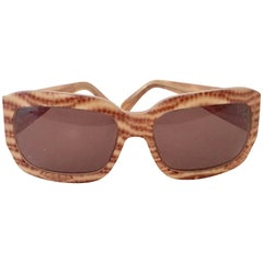 Salvatore Ferragamo Animal Print Sunglasses