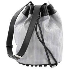 Alexander Wang Alpha Bucket Bag Eel Skin