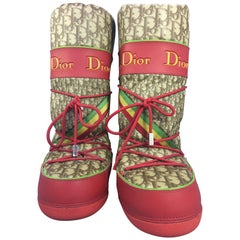 Dior Logo Snow Boot