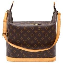 Louis Vuitton Sharon Stone Amfar Three Monogram Canvas Shoulder Bag