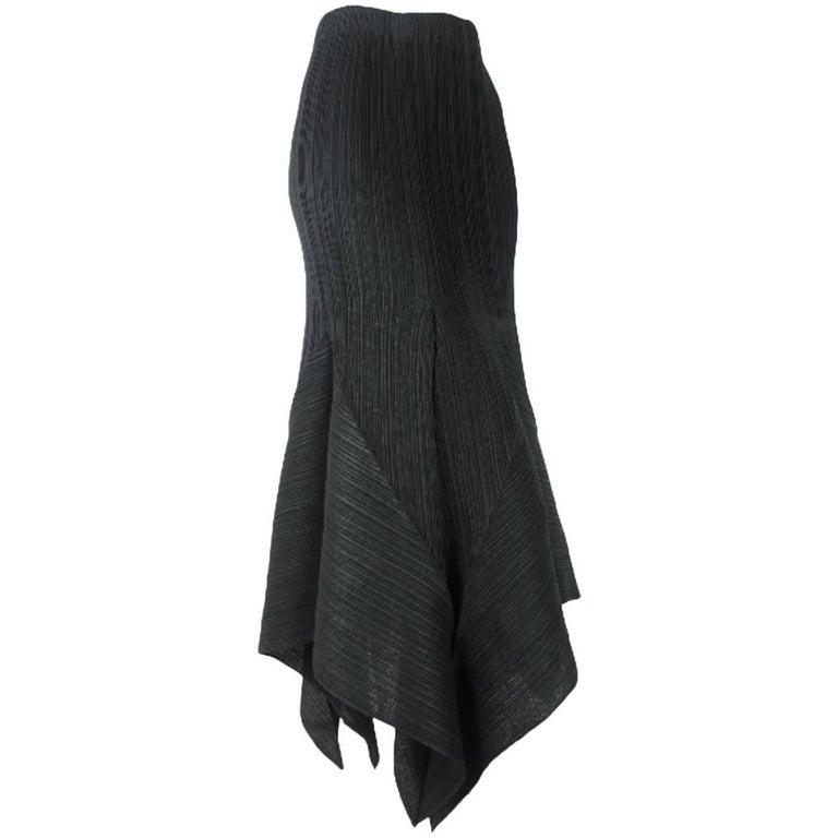 Issey Miyake Vintage 80's Pleated Skirt