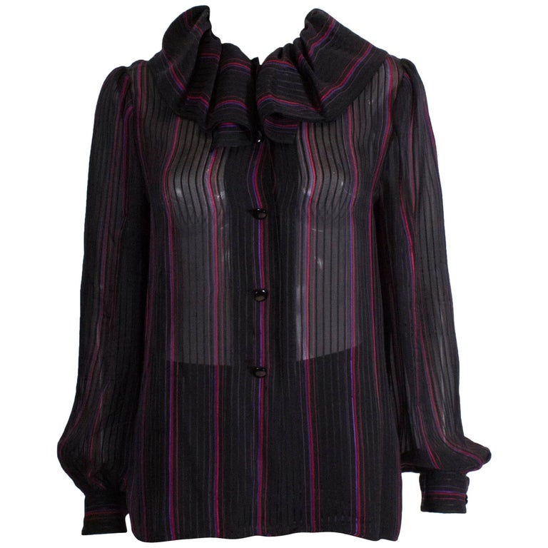 Givenchy Boutique Stripe Blouse