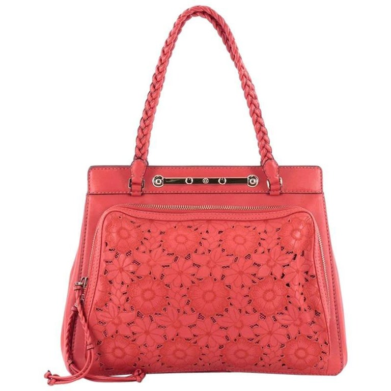Valentino Demetra Tote Leather Lace