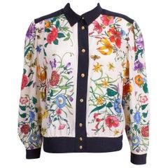 Vintage Floral Blouson