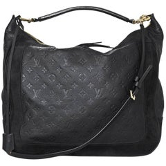 Louis Vuitton Bleu Infini Monogram Empreinte Audacieuse GM Bag W/ Strap