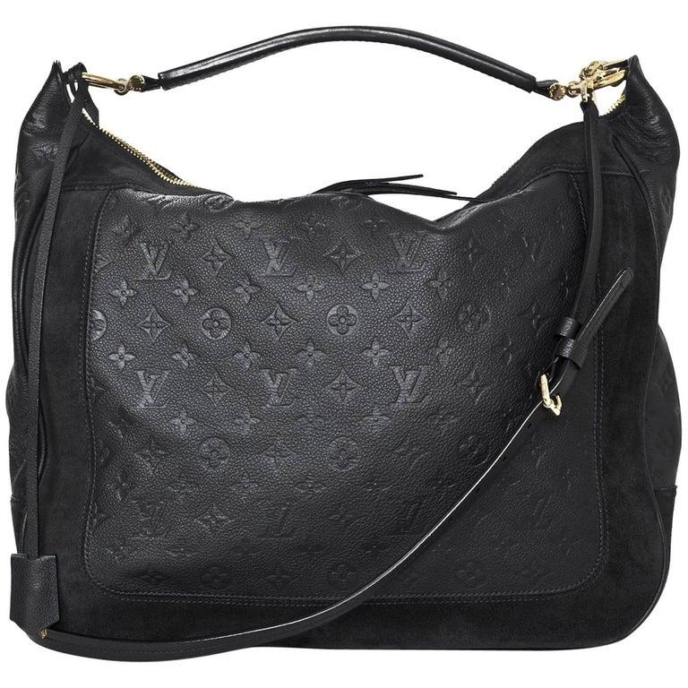 Louis Vuitton Bleu Infini Monogram Empreinte Audacieuse GM Bag With Strap  For Sale 4fc574d78453f