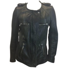 Isabel Marant Leather Moto Jacket