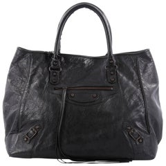 Balenciaga Tote Classic Studs Leather Small