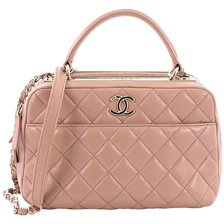 48d0c7d2bd16 Chanel Trendy CC Bowler Bag Quilted Leather Medium at 1stdibs