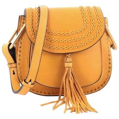 Chloe Hudson Handbag Whipstitch Leather Small