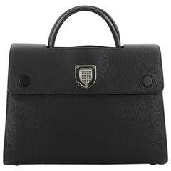 Christian Dior Diorever Top Handle Bag Leather Medium