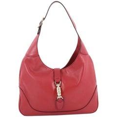 Gucci Jackie Original Shoulder Bag Leather Medium