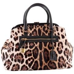 Dolce & Gabbana Miss Brigitte Doctor Bag Calf Hair Large