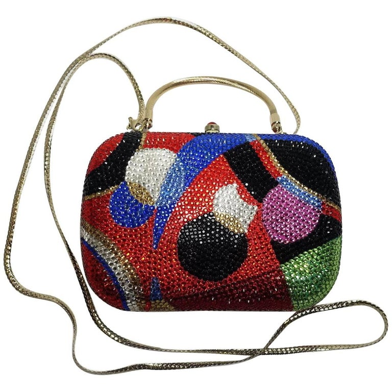Multi-Color Minaudiere Evening Bag