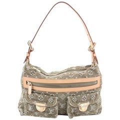 Louis Vuitton Baggy Handbag Denim PM